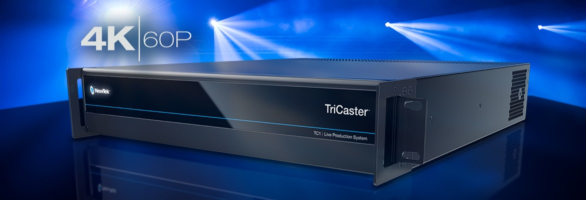 TriCaster TC1-Product-4K60P