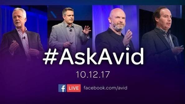 #AskAvid – An Evening With Avid