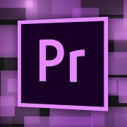 Adobe Premiere Pro Logo with background