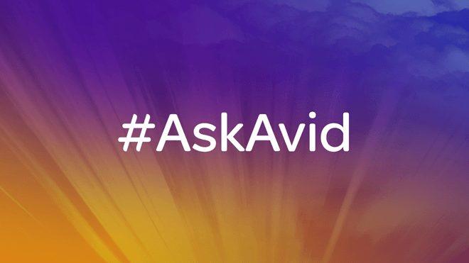 #AskAvid: An Evening For Avid Professionals