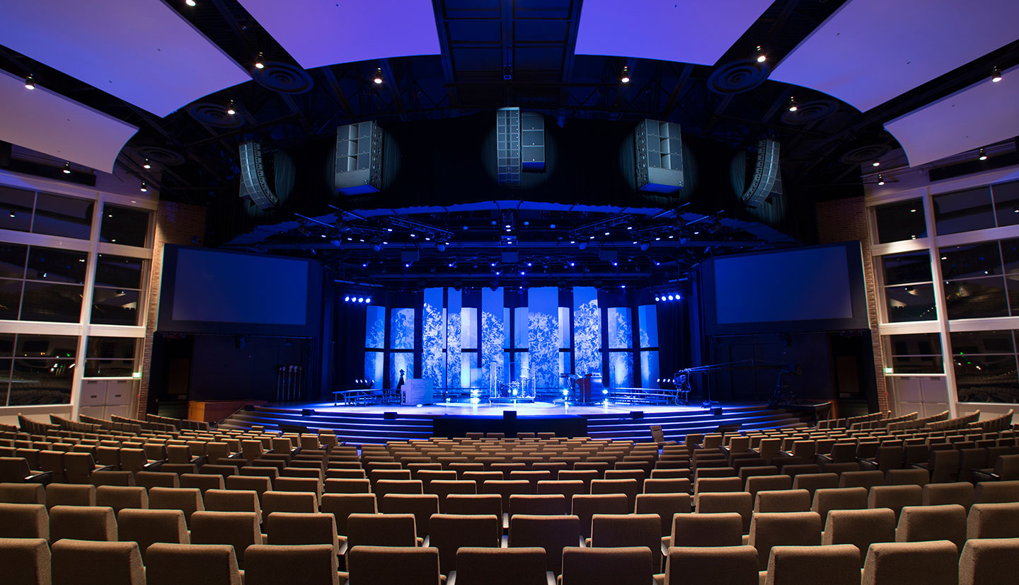Cherry Hills Community Church Goes HD With Projection and Video Control
