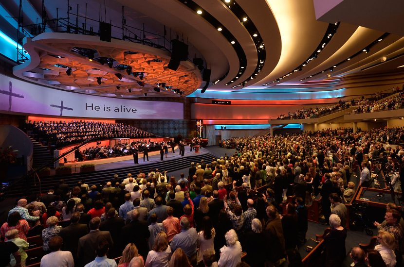 First Baptist Church Integrates Broadcast and Projection Systems