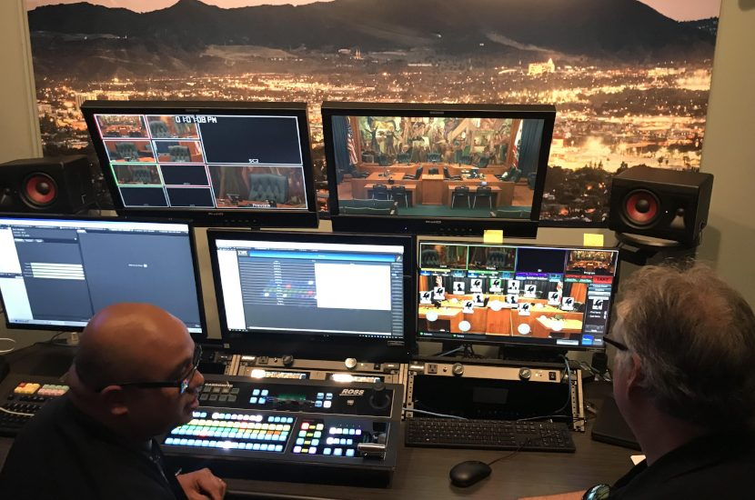City of Burbank Builds A New Master Control Room, Camera System, and Digital Signage