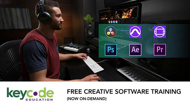 Key Code Education: Free Creative Software Training