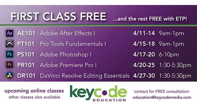 Key Code Education Offering Free Training On Facebook Live