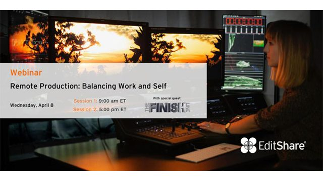 Remote Production: Balancing Work and Life