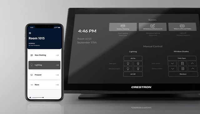 Crestron Demonstrates Campus Technology Solutions