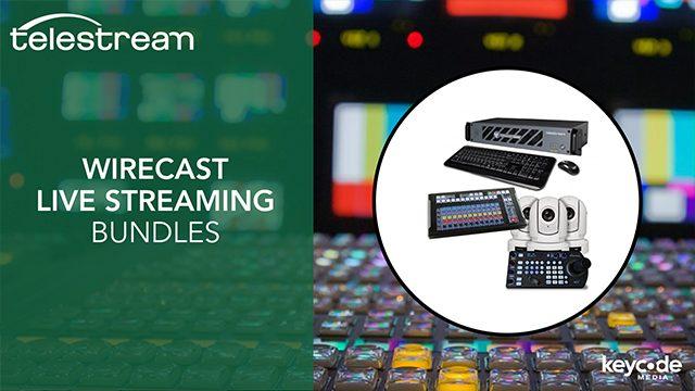 Telestream Wirecast Gear – Live Production Bundles