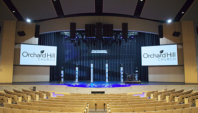 Orchard Hill Church Refreshes Worship Center Audio & Broadcast in $1.3M Renovation