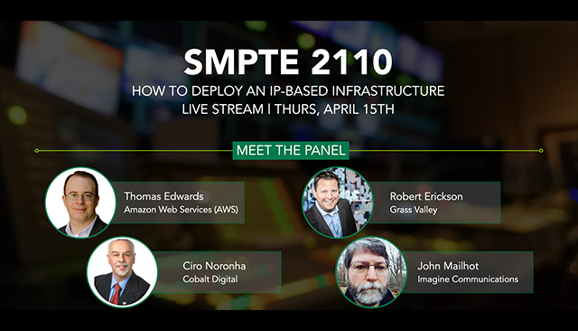 SMPTE 2110: How To Deploy An IP-Based Infrastructure